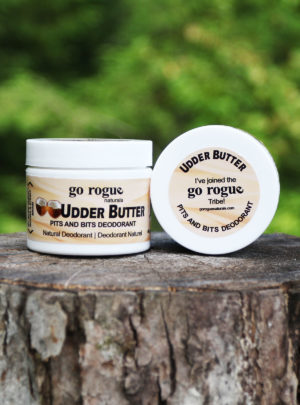 Udder Butter – Pits and Bits Deodorant Cream